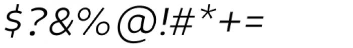 Niva Small Caps Light Italic Font OTHER CHARS