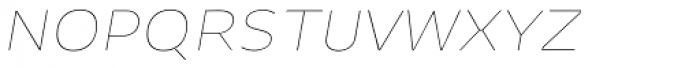 Niva Small Caps Thin Italic Font LOWERCASE