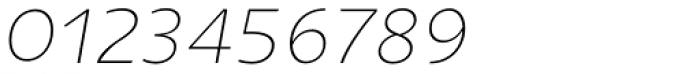 Niva Small Caps Ultra Light Italic Font OTHER CHARS