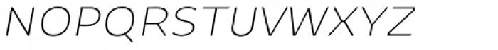 Niva Small Caps Ultra Light Italic Font LOWERCASE