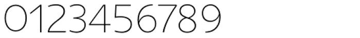 Niva Ultra Light Font OTHER CHARS