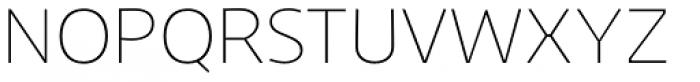 Niva Ultra Light Font UPPERCASE