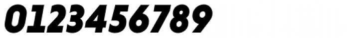 Niveau Grotesk Black Italic Font OTHER CHARS