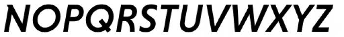Niveau Grotesk Medium Italic Font UPPERCASE