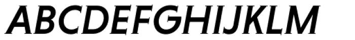 Niveau Serif Medium Italic Font UPPERCASE