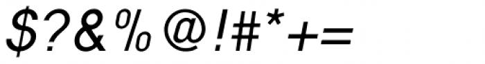 Nixin Regular Italic Font OTHER CHARS