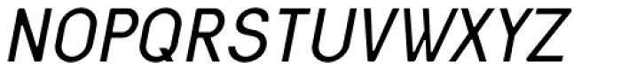 Nixin Regular Italic Font UPPERCASE