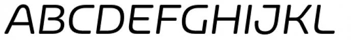 Nizzoli Alt Rounded Regular Italic Font UPPERCASE
