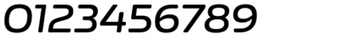 Nizzoli Alt Rounded Semi Bold Italic Font OTHER CHARS