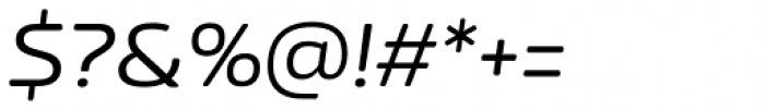 Nizzoli Rounded Regular Italic Font OTHER CHARS