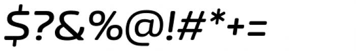 Nizzoli Rounded Semi Bold Italic Font OTHER CHARS