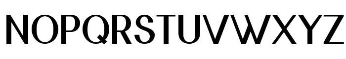 Nickel-Bold Font UPPERCASE