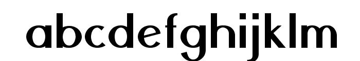 Nickel-Bold Font LOWERCASE
