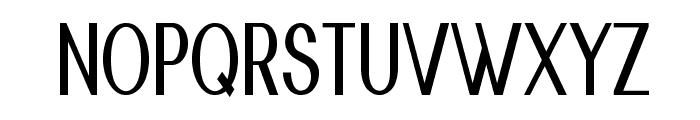 Nickel-CondensedBold Font UPPERCASE