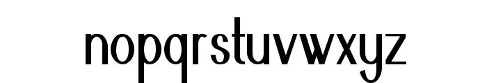 Nickel-CondensedBold Font LOWERCASE