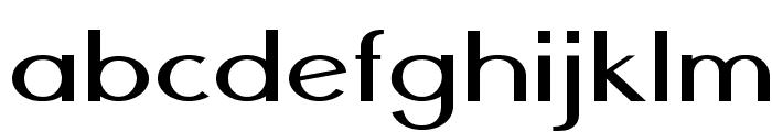 Nickel-ExpandedRegular Font LOWERCASE