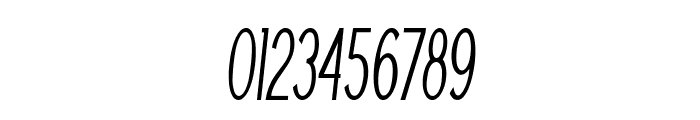 Nickel-ExtracondensedItalic Font OTHER CHARS