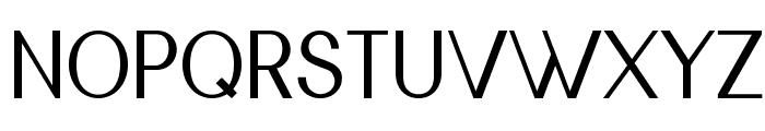 Nickel Font UPPERCASE