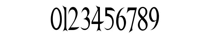 Nightshade-CondensedRegular Font OTHER CHARS