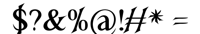 NightshadeBold Font OTHER CHARS