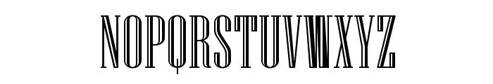 Niagara Engraved Font UPPERCASE