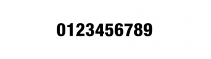 Nimbus Sans Novus Complete Condensed Heavy Font OTHER CHARS