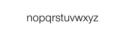 Nimbus Sans Novus Complete Regular Font LOWERCASE
