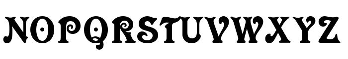 NK123 Font UPPERCASE