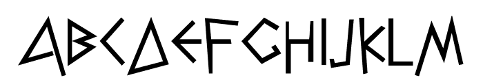 NK128 Font LOWERCASE
