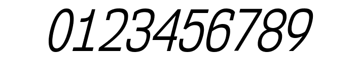 NK57MonospaceCdBk-Italic Font OTHER CHARS