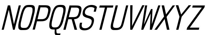 NK57MonospaceCdBk-Italic Font UPPERCASE