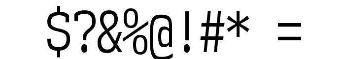 NK57MonospaceCdBk-Regular Font OTHER CHARS