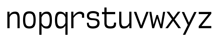 NK57MonospaceCdBk-Regular Font LOWERCASE