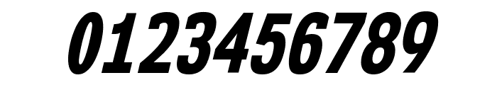 NK57MonospaceCdEb-Italic Font OTHER CHARS