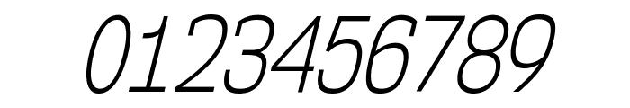 NK57MonospaceCdLt-Italic Font OTHER CHARS