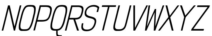 NK57MonospaceCdLt-Italic Font UPPERCASE