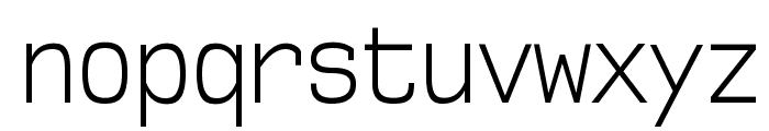 NK57MonospaceCdLt-Regular Font LOWERCASE