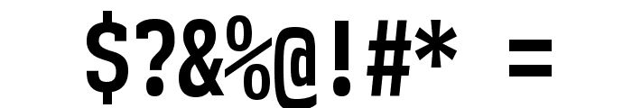 NK57MonospaceCdRg-Bold Font OTHER CHARS