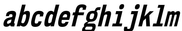 NK57MonospaceCdRg-BoldItalic Font LOWERCASE