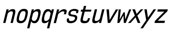 NK57MonospaceCdRg-Italic Font LOWERCASE