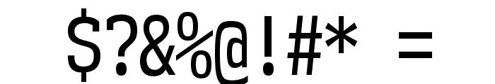 NK57MonospaceCdRg-Regular Font OTHER CHARS