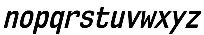 NK57MonospaceCdSb-Italic Font LOWERCASE