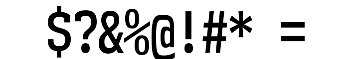 NK57MonospaceCdSb-Regular Font OTHER CHARS