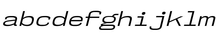 NK57MonospaceExBk-Italic Font LOWERCASE