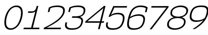 NK57MonospaceLt-Italic Font OTHER CHARS