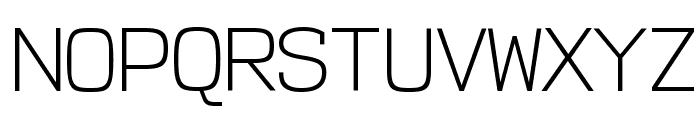 NK57MonospaceLt-Regular Font UPPERCASE