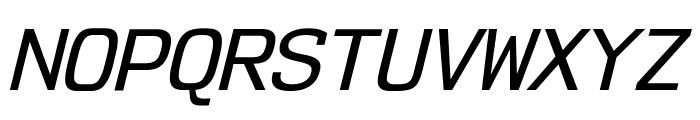 NK57MonospaceRg-Italic Font UPPERCASE