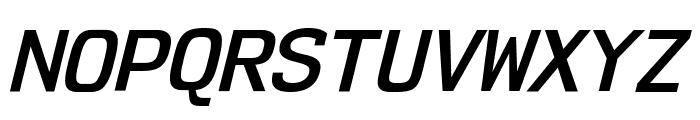 NK57MonospaceSb-Italic Font UPPERCASE