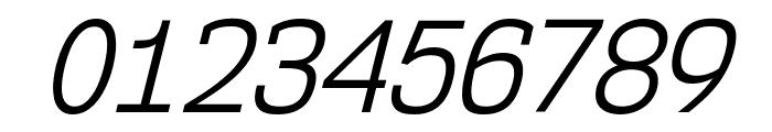 NK57MonospaceScBk-Italic Font OTHER CHARS