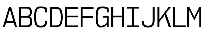 NK57MonospaceScBk-Regular Font UPPERCASE